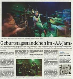 AAJam Konzert Artikel